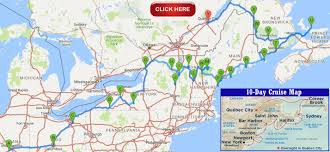 New York On The Map by Autumn 2016 East Coast Adventure