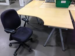 ikea galant right hand desk herman miller chair also avail u2026 flickr