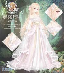 wedding dress anime braids anime wedding dress design saber fate stay