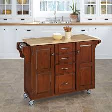 chris u0026 chris chef stainless steel kitchen cart with wood top