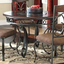 signature design by ashley glambrey round dining table walmart com