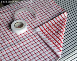 how to make a no sew kitchen towel apron a simple baking