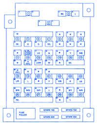 kia sportage 2001 fuse box block circuit breaker diagram carfusebox