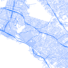 Los Angeles Street Cleaning Map by Street Sweeping