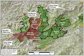 Appalachian Mountains On Map North Carolina U0027s Mountain Treasures Black Mountains Conservation