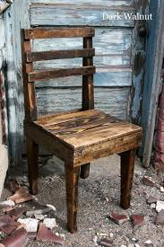 rustic wooden pallet chairs pallet furniture plans diy chair