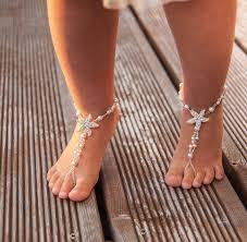 starfish barefoot sandals flower girl barefoot sandals baby starfish barefoot sandal