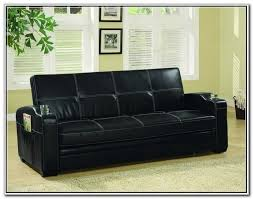 Black Leather Sleeper Sofa Black Leather Sofa And Loveseat Set Home Design Ideas