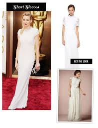 calvin klein wedding dresses wedding inspiration from the oscars carpet 2014