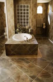 bathroom stylish bathroom design with natural brown wall and floor