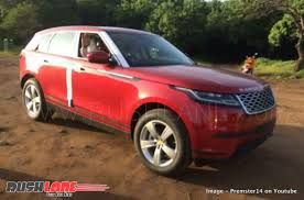 land rover india range rover velar india launch carblogindia