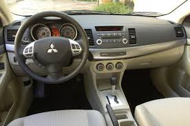 mitsubishi galant interior 2009 mitsubishi lancer information and photos momentcar