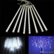 outdoor string lights rain 20cm 30cm 50cm meteor christmas lights outdoor decoration waterproof