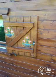 decoration de montagne location chalet à la bresse iha 36944