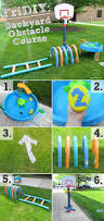 backyard water obstacle course outdoor furniture design and ideas