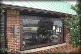 restaurant u0026 seasonal vinyl patio enclosure panels