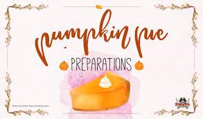 thanksgiving event pumpkin pie preparations pirate king