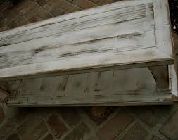 White Distressed Coffee Table Wooden Coffee Table Rustic Wood Distressed Furniture Living