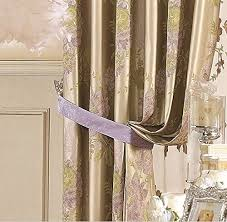 Blackout Curtains 72 Wide Iyuegou Traditional Jacquard Faux Silk Multi Floral Grommet Top