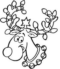 rudolph reindeer face craft coloring responses rudolph
