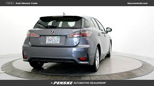 lexus of fremont california used 2016 lexus ct 200h for sale in san jose ca serving