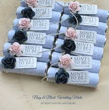 mint to be favors top wedding favors navy and pink wedding favors mint to be