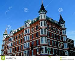 french chateau style hotel stock photo image 39044744