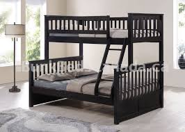Bunk Bed Duncan Single Over Double Dark Brown RGBBDUN - Single double bunk beds