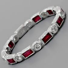 ruby band diamond and ruby band luca s birthstone would this
