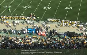 Packer Flags United Front Packers Players Say Solidarity And Respect For Flag