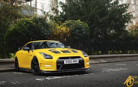 nissan gtr side view awesome yellow nissan gt r front side view by adamc3046 automotive