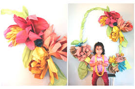 paper flower decorations kiddley