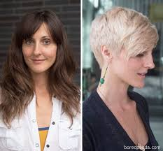 before and after picuters of long to short hair 10 extreme haircut transformations that will inspire you to get a