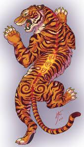 tiger by inkydragon on deviantart