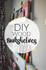 Building Wood Bookcases by Best 25 Wood Bookshelves Ideas On Pinterest Pallet Bookshelves