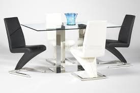 Modern Glass Round Dining Table Rectangular Glass Top Dining Table Sets Dining Table Modern Glass