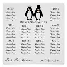 sample chart templates dinner seating chart template free