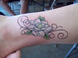 magnolia tattoo by bloodyroses526 on deviantart tattoomagz