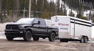 2011 dodge ram towing capacity 2015 ram 2500 hd cummins ike gauntlet towing test