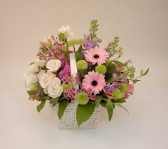 Flower Arranging For Beginners Workshop Flowers In A Basket West Berkshire Heritage