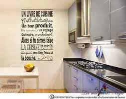 stickers muraux cuisine citation stickers muraux décoration mural phrases cuisine citation dicton ebay