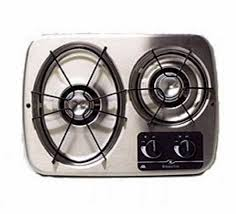 atwood 56494 stainless steel 2 burner wedgewood vision drop in cooktop