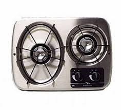 Rv Cooktop Atwood 56494 Stainless Steel 2 Burner Wedgewood Vision Drop In Cooktop