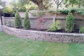 Retaining Wall Landscaping Ideas Backyard Retaining Wall Designs Astonishing Ideas 15 Gingembre Co