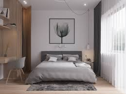Scandinavian Bed Grey Themed Scandinavian Bedroom Inspiration Interior Design Ideas