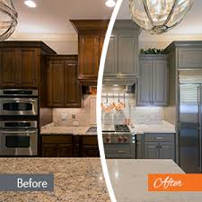 how to restain cabinets a different color cabinet painting services n hance of lowcountry
