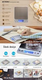 amazon com skyroku digital kitchen scale high precision food