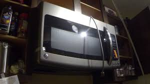 Ge Wall Mount Oven How To Install A Ge Adora Over The Range Microwave Oven Youtube