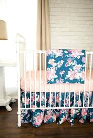 Navy And Coral Crib Bedding Coral Colored Crib Sheets Packed With Crib Bedding In Coral