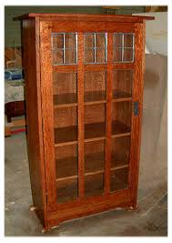 mission display bookcase with seedy glass amish style bookcases